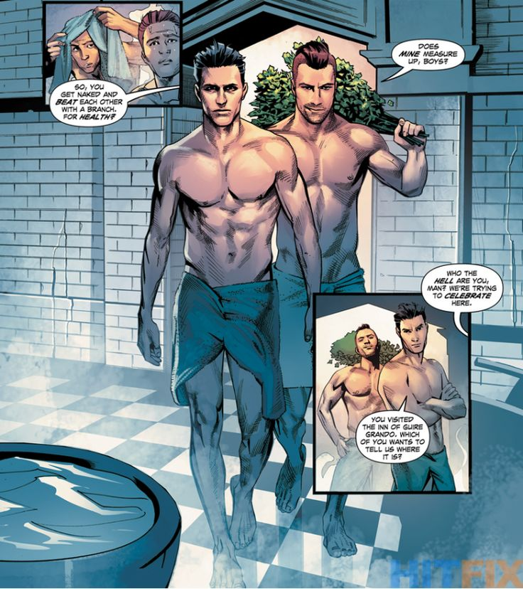 GAY SUPERHEROES DC