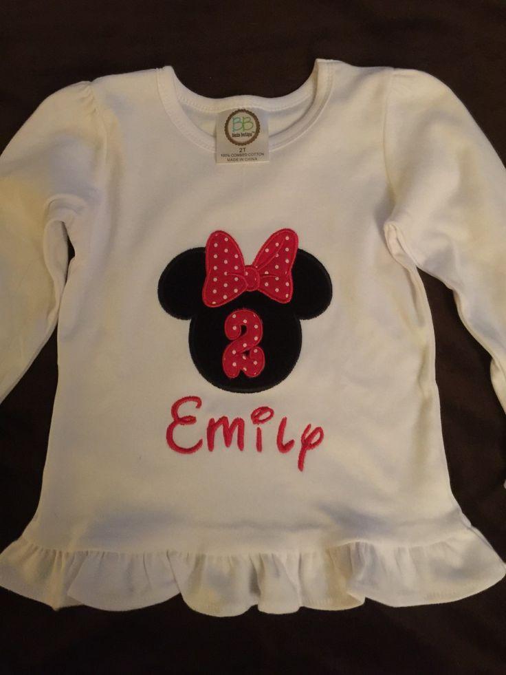 Girls Custom Made Shirts, Birthday Shirts, Childs Appliqued Shirt, Personalized Childs Shirt by MarysCottonShoppe on Etsy