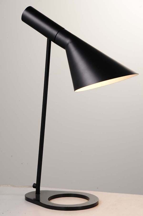 Arne Jacobsen Louis Poulsen AJ Table Lamp Reproduction Lamp