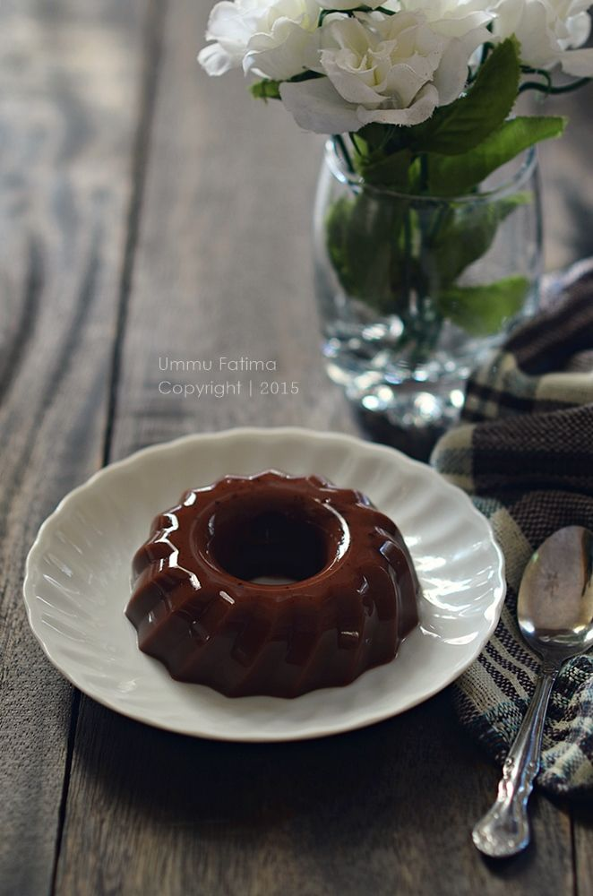 Simply Cooking and Baking...: Puding Coklat Santan (Tanpa DCC)
