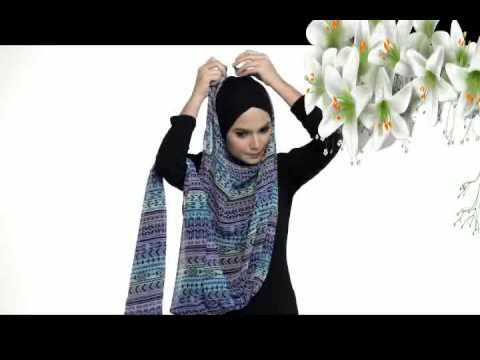 Shawl Styling Tutorial - Al Humaira