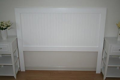 DIY Step by Step How to make a Beadboard Headboard