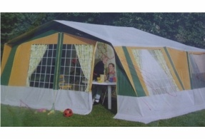 Want to camp in style? Create your own home from home wherever you go with this Marechal Vaucluse Family Tent