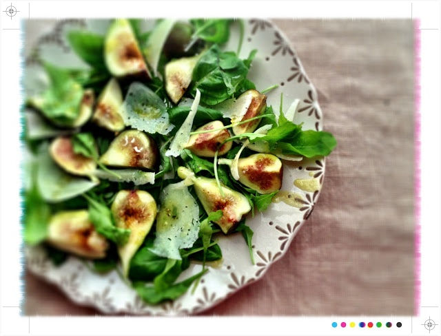 Toast: Fresh Figs with Manchego & Honey, from Ottolenghi The Cookbook IHCC