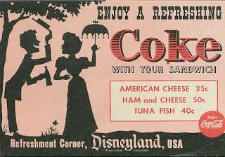 Refreshment Corner, Disneyland