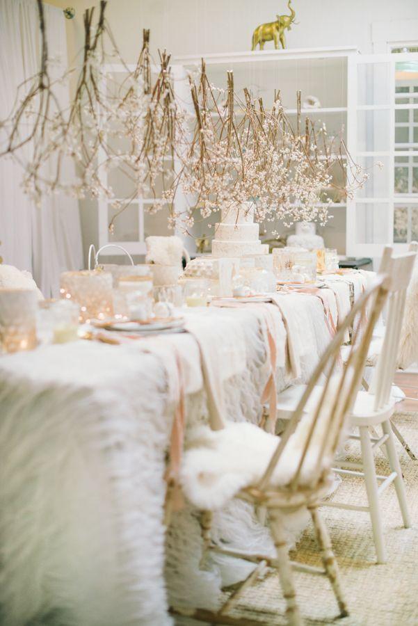 White Like A Unicorn Holiday Party | theglitterguide.com