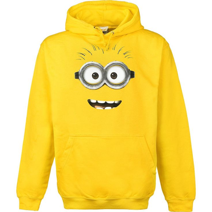 Minion Goggle Face - Hooded sweatshirt by Despicable Me 2 - Article Number: 277139 - from 37.99 £ - EMP Mail Order UK Ltd. ::: The Heavy Metal Mailorder ::: Merchandise, Shirts and more!