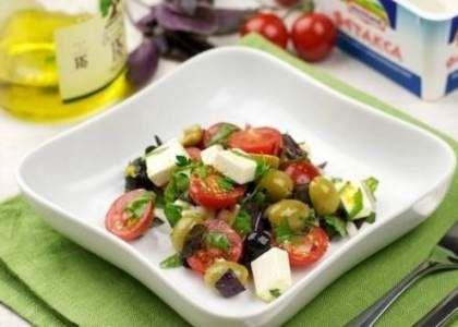 Салат «Оливковый» - рецепт с фото