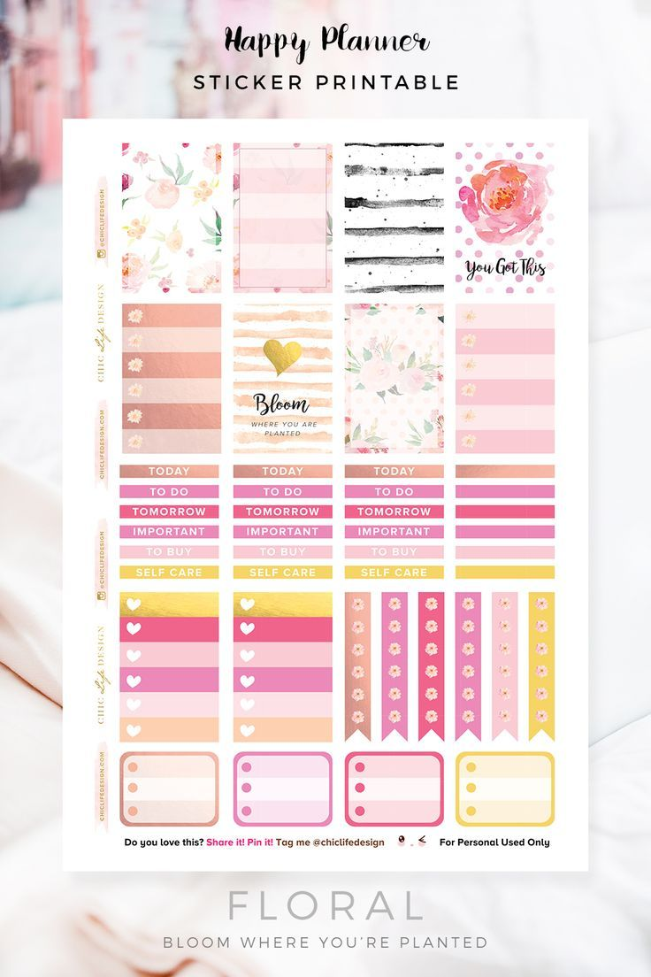 25+ best ideas about Free planner on Pinterest | Printable ...