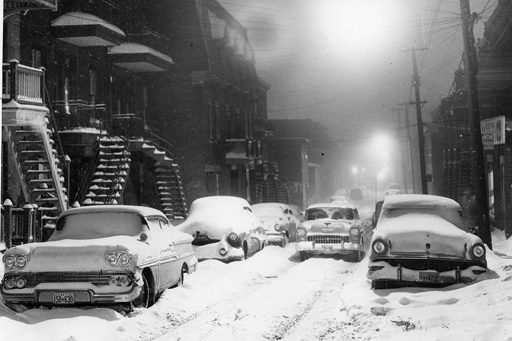 Old Montréal in winter.