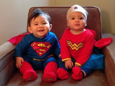 Ideas for Twin Halloween Costumes from the Twin Z Pillow! www.twinznursingpillow.com