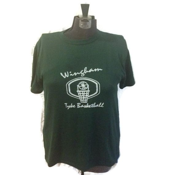 80's Wingham Tyke Basketball Tshirt / 1980's by RetroFreshTees, $16.00