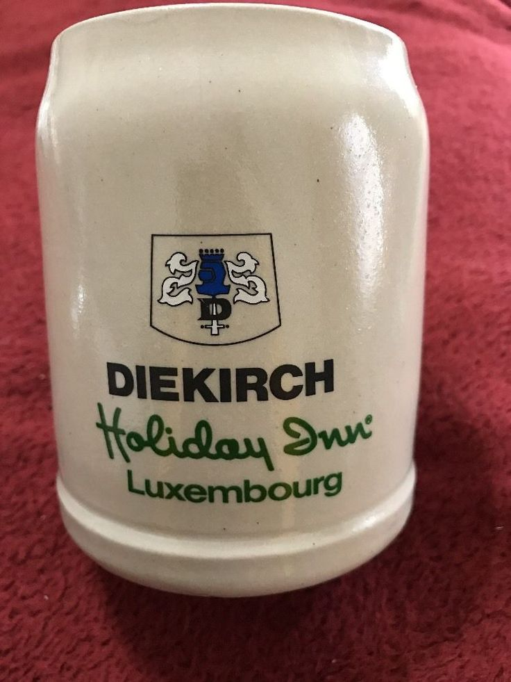 Holiday Inn LUXEMBOURG 1985 Stein~ BRASSERIE DIEKIRCH by RASTAL | eBay