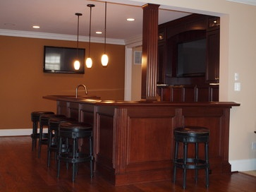 Traditional Bar Designs Design Ideas, Pictures, Remodel, And Decor