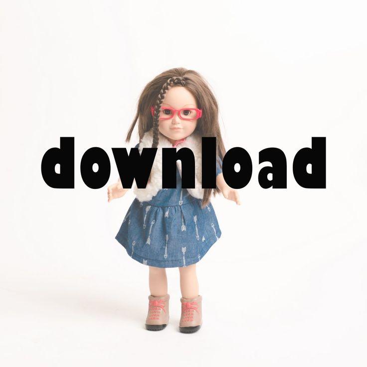 277 besten Puppenkleidung Bilder auf Pinterest | Kinderspielzeug ...