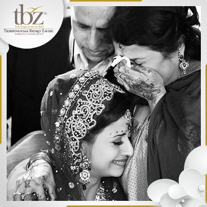'A daughter remains a daughter all her life!'   [Image Courtesy: beautifulsouthasianbrides.tumblr.com]
