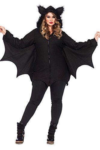 cozy bat costume plus size 3x4x dress size 22 26 leg halloween - Size 26 Halloween Costumes