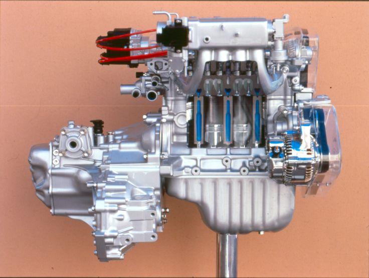 1991-1995 Toyota Paseo engine