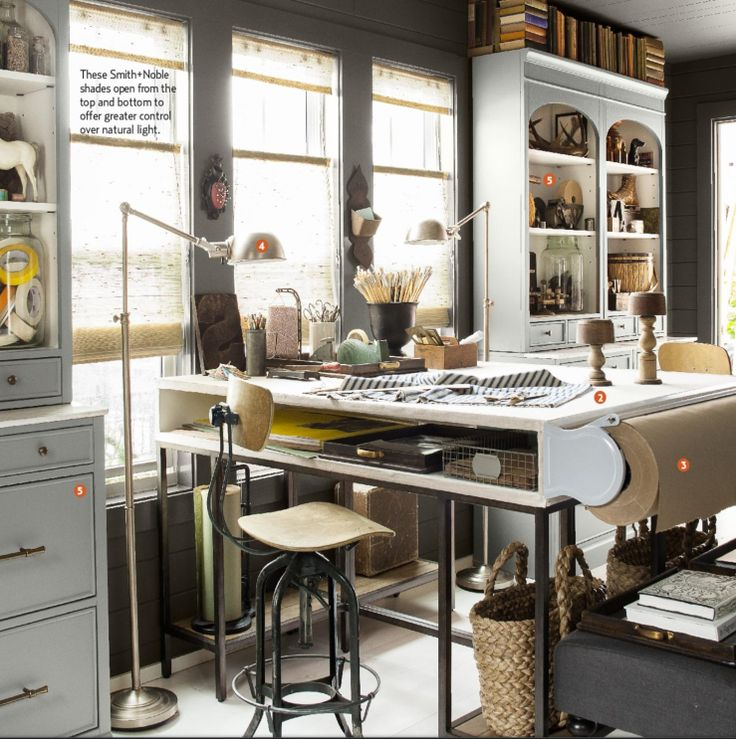 33 Stylish And Dramatic Masculine Home Office Design Ideas: 17 Best Images About Dream Home Office On Pinterest