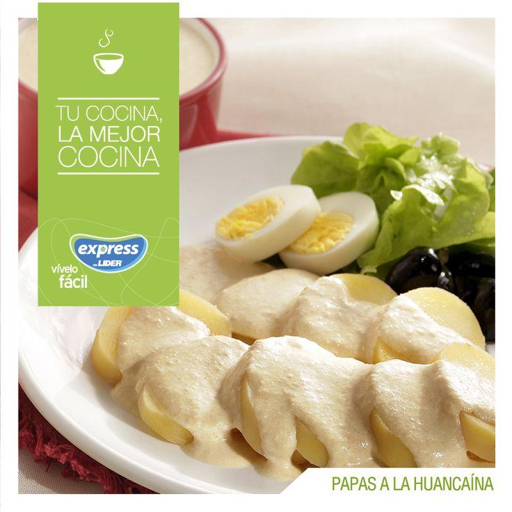 Papas a la huancaína. #Recetario #Receta #RecetarioExpress #Lider #Food…