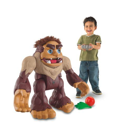 The Fisher-Price Imaginext Big Foot the Monster is a personable and fun wireless remote-control companion that boasts a wide range of reactions and features. This battery-powered behemoth will talk, roll, tumble, and express emotions--all via remote control.