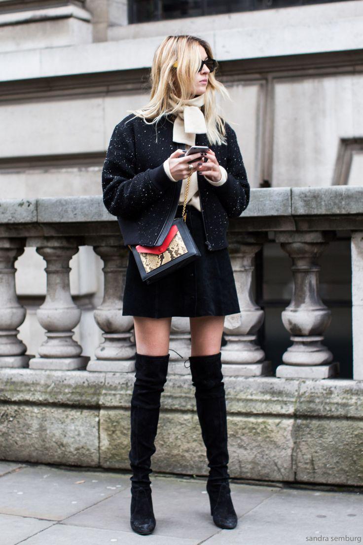 Mini & High-heels Street Snap : Photo