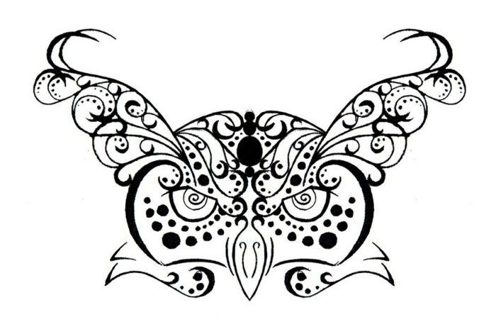 17 meilleures id es propos de tribal tatouages hibou sur pinterest tatouages de chouette. Black Bedroom Furniture Sets. Home Design Ideas