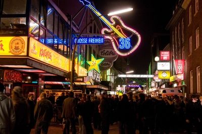 10 Things to See in Hamburg, Germany (Sorry, No Actual Hamburgers): The Reeperbahn, Hamburg's Red Light District