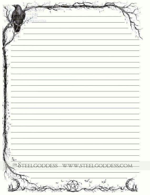 8 best Journal Pages images on Pinterest Blank book, Books and - blank line paper