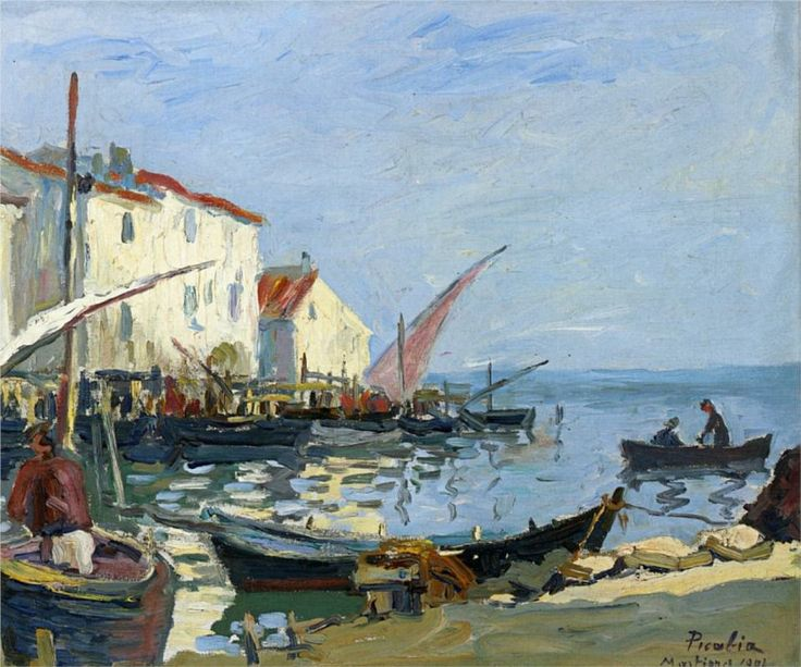 "Francis Picabia (French,1879-1953)   ""The Martigues"", 1902"