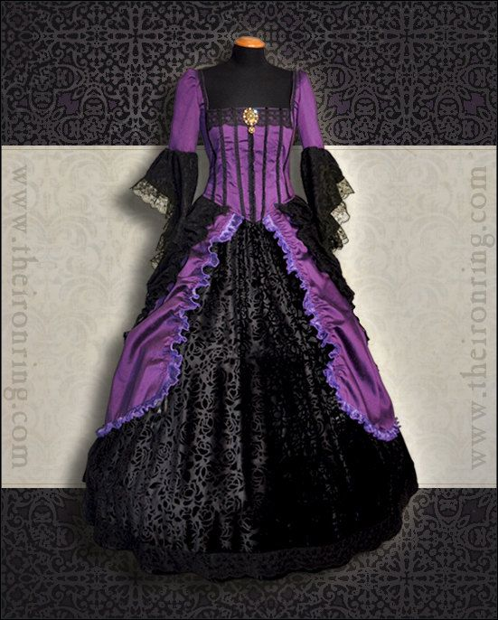 Made to order  fantasy victorian renaissance marie by TheIronRing, €500.00