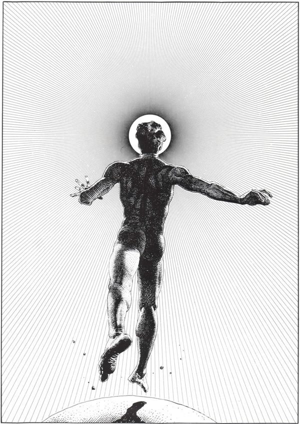 Black and white drawings by Moebius – more images @ www.juxtapoz.com/Current/black-and-white-drawings-by-moebius