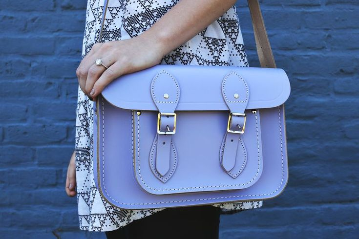 love this lavender cambridge satchel for spring