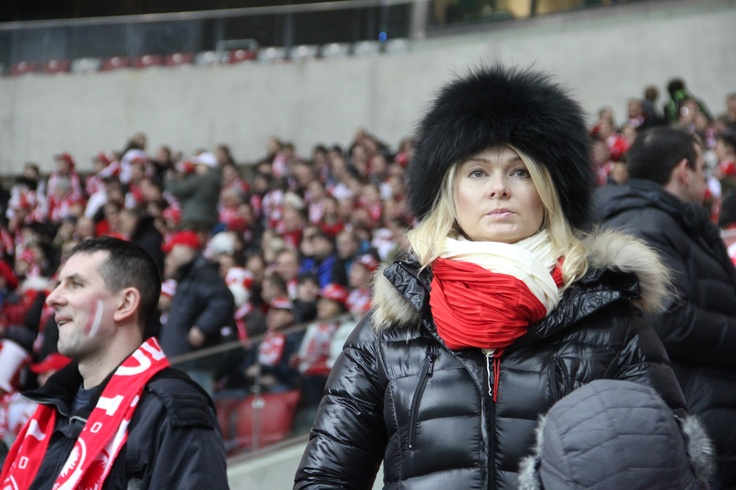Don't mess with the footy fans in Warsaw...
