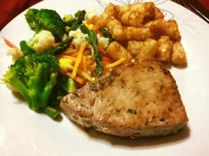 This tuna steak was insanely good! VERY juicy and extremely flavorful. The trick to this recipe is to not over cook the tuna. Marinated Tuna Steaks is one of my favorites in the summer time its lig…