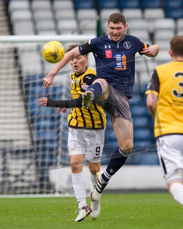 Queen's Park's Ryan McGeever in action during the Ladbrokes League One game between Queen's Park and East Fife.