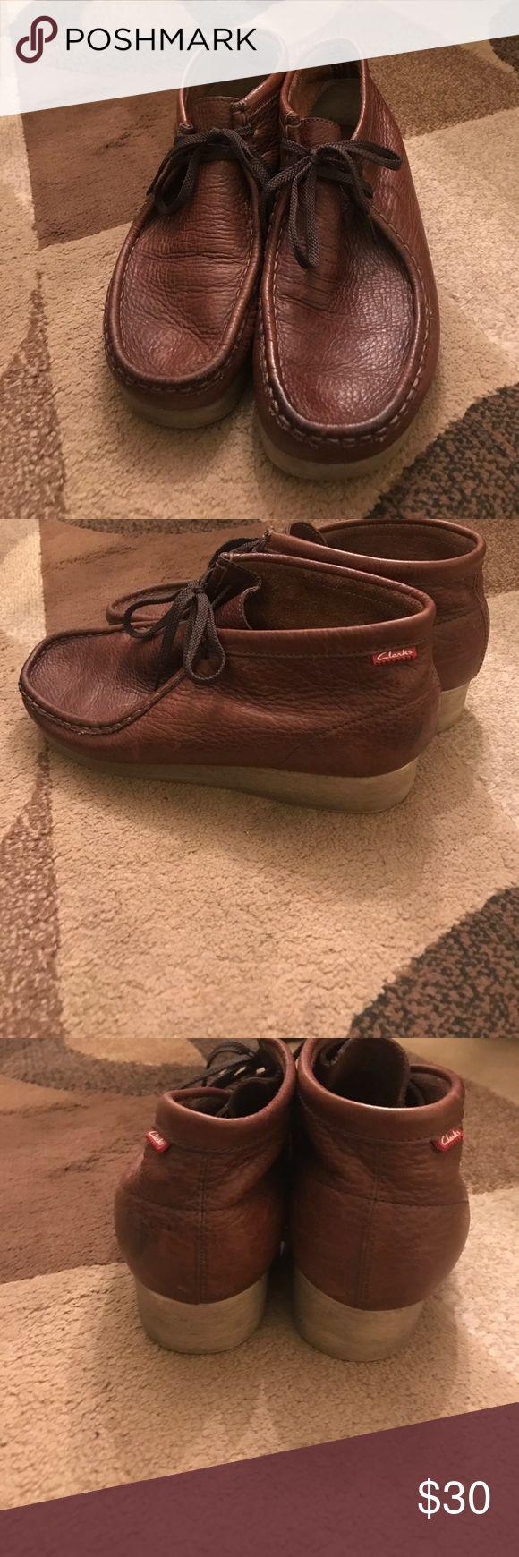 Men's Clarks with bubble gum soles Men's Clarks with bubble gum soles, excellent condition Clarks Shoes Oxfords & Derbys