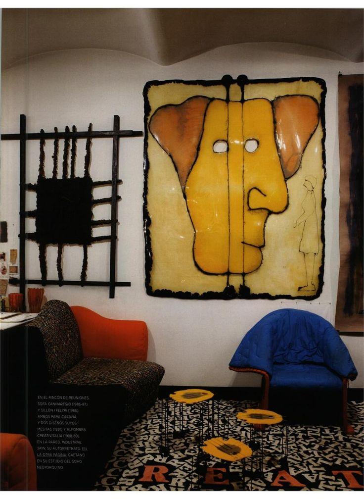 AD SPAIN - FELTRI, design Gaetano Pesce