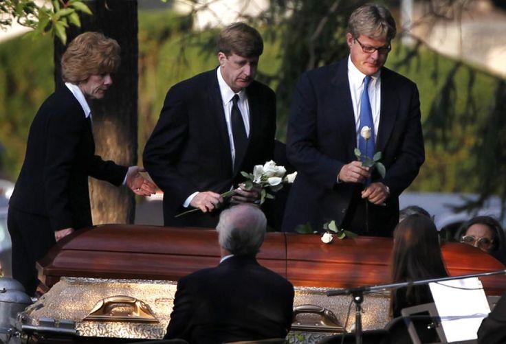 Senator Edward Kenedy Casket: ... Kara Kennedy Was Buried Near