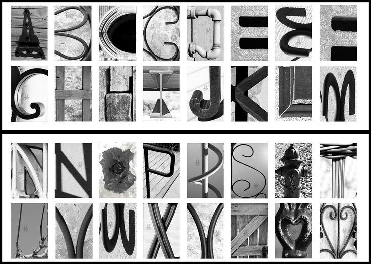 184 best Letters/Alphabet Photography Symbols images on Pinterest ...