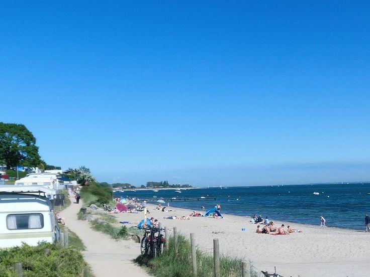 Am Strand zwischen Neustadt und Pelzerhaken, © Campingplatz Südstrand