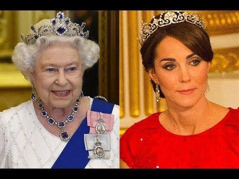 Кейт Миддлтон станет королевой! Кому передаст корону Елизавета II? Принц Уильям и Кейт Миддлтон. - YouTube