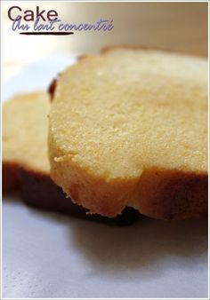 CAKE AU LAIT CONCENTRE Une recette simple qui doit être très bonne !