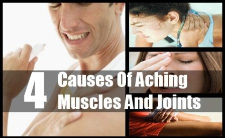 Aching Muscles And Joints