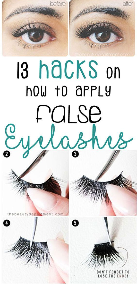 De 25+ Bedste Idéer Inden For Natural Fake Eyelashes På