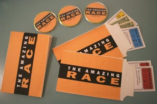 Amazing Race activity with sample instructions and printables.