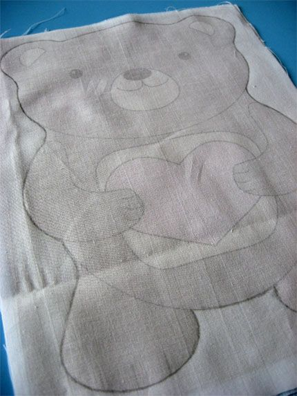 Simple Bear to Sew