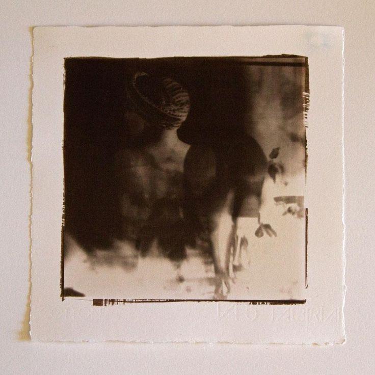 Forgotten Beauties 01 - 20x20 cm Van Dyke Brown print
