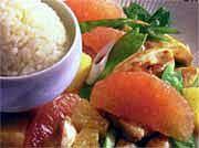 Chicken and Fresh Grapefruit Stir Fry recipe at Tops Friendly Markets