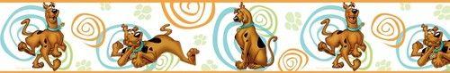New Scooby Doo Peel Stick Wallpaper Border Bedroom Wall Decor Room Decorations | eBay